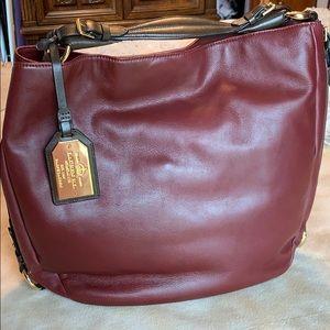 Ralph Lauren Harbridge Leather Hobo
